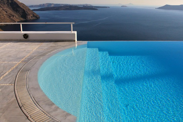 Aire de piscine