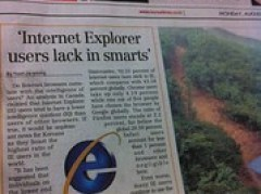 The best front page headline ever!