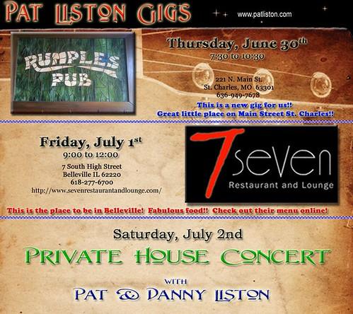 Pat Liston 7-1-11