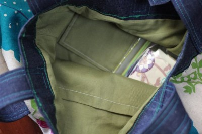 Goodie Bag Swap inside pockets