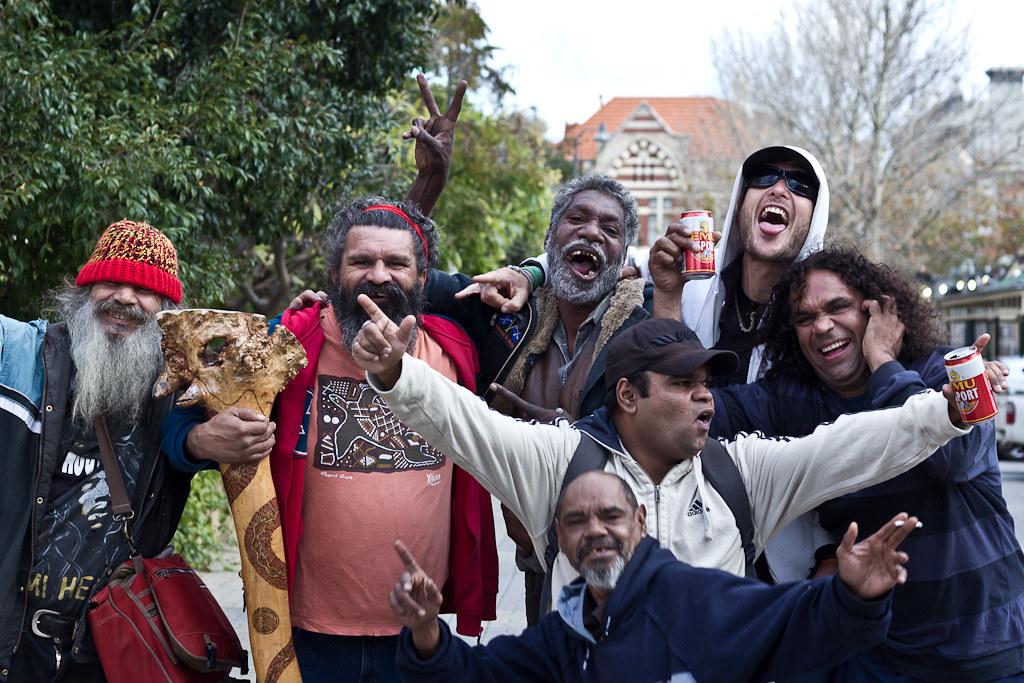J61 /Thème libre : Les Aborigènes de Fremantle