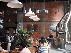 Roaster, Toby's Estate Coffee Singapore, 8 Rodyk Street