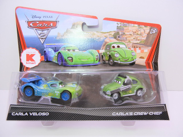 disney cars 2 kmart exclusive carla veleso and crew chief (1)