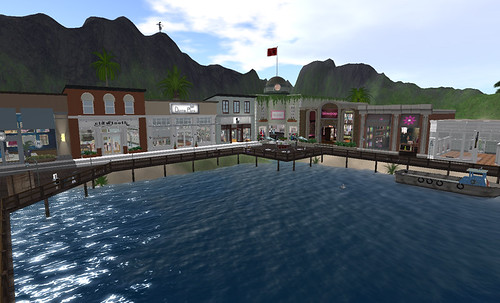 Icing and other stores in Mischief Cove