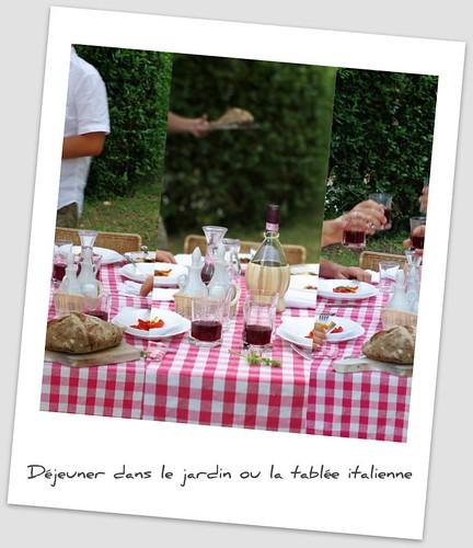 Tablée italienne