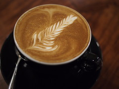 Flat White, Smitten Coffee & Tea Bar, The Quayside, Robertson Quay