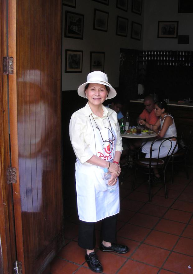 Sandra in Peru 2