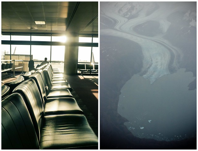airports and airplanes