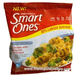 Smart Ones Satisfying Selections Chicken with Broccoli & Cheese