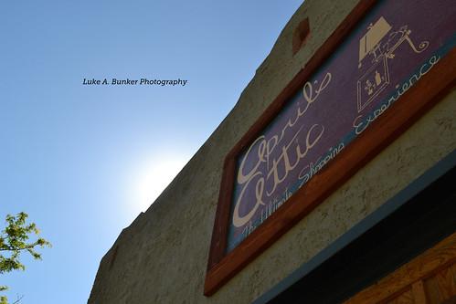 Hidden Sunlight at April's Attic by Luke A. Bunker
