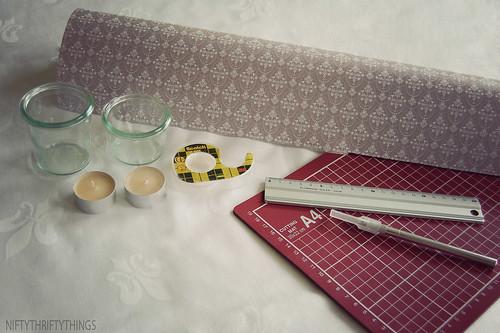 {DIY paper lantern}