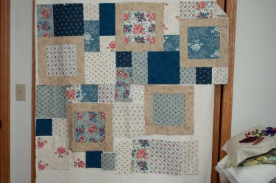 New quilting project