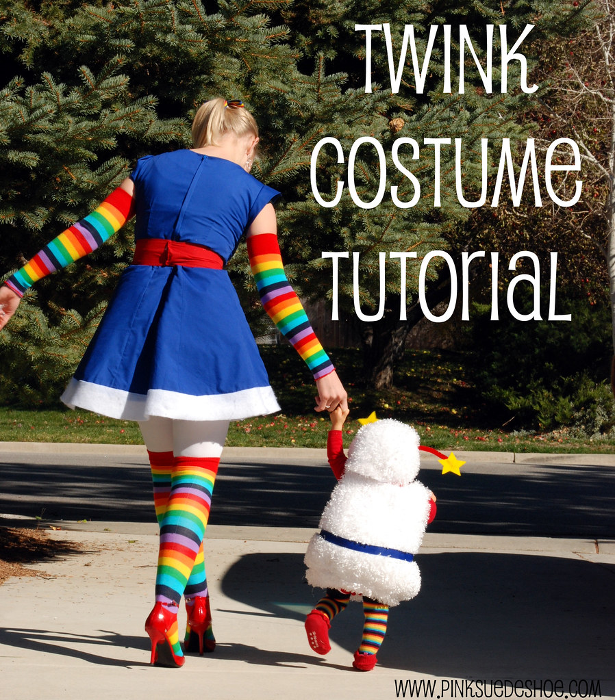 rainbow brite and twink costume diy tutorial : toddler rainbow brite costume  - Germanpascual.Com