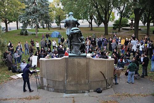 Occupy Albany, 10.22.2011
