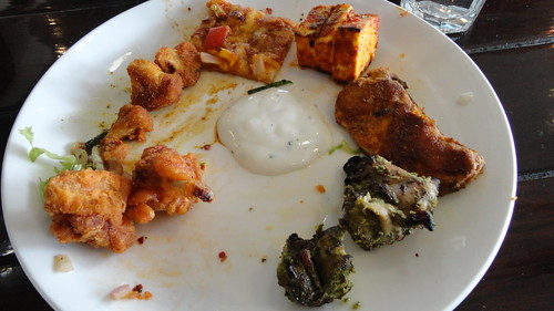 Starters at Cafe Masala