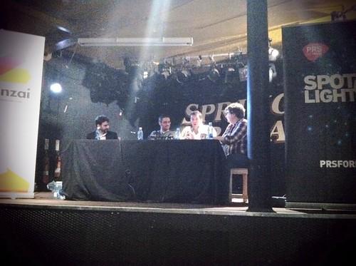 L to R: Brett LeBoff, Marty Neil, Steven Houston & Rich Dale at #unconbelfast