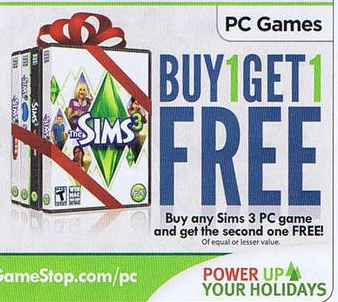 GameStop's Black Friday 2011 ad