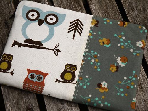 Owl Galaxy Tab Sleeve, Front