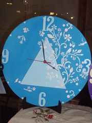 orologio decorato