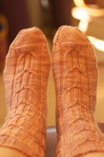 Calcareous socks: on feet