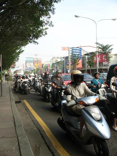 Hsinchu morning rush hour