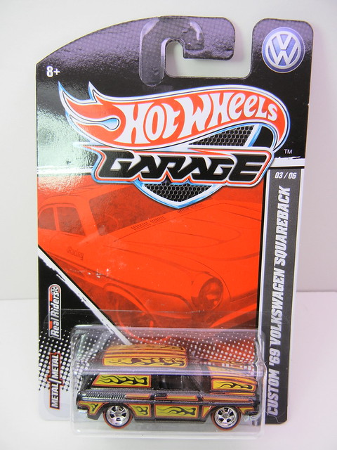 hot wheels garage  custom '69 volkswagen squareback (1)