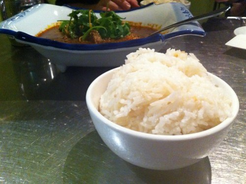 Chicken rice at Hawker's Cuisine
