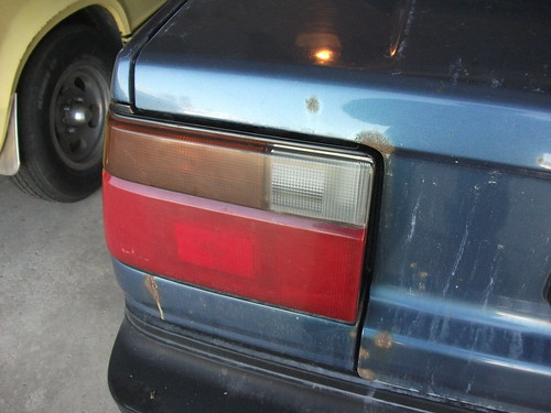 Tail light replaced