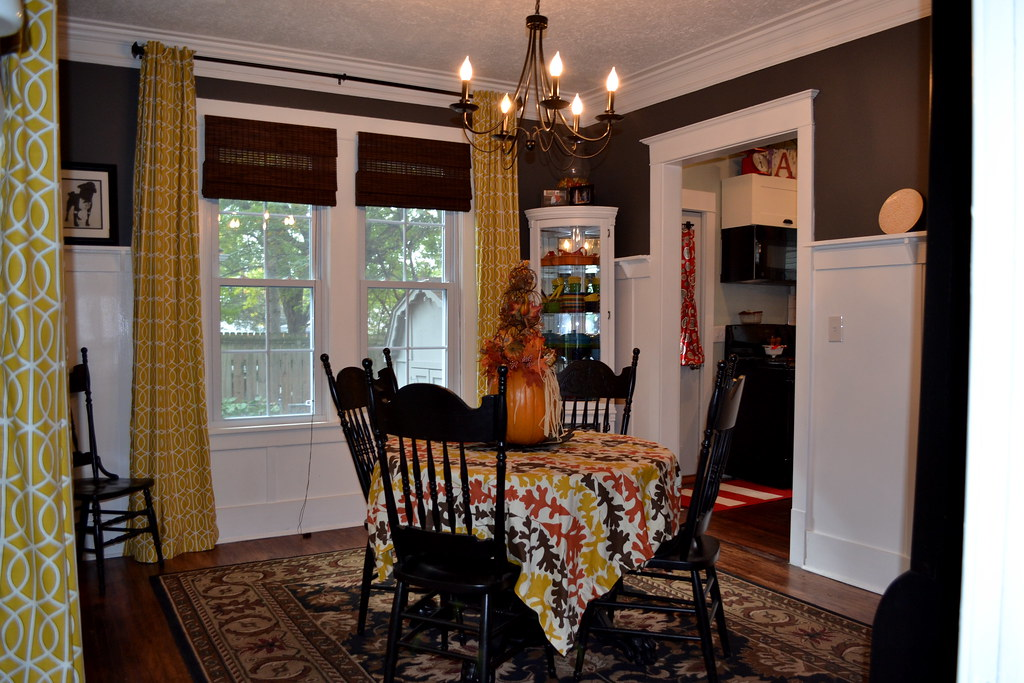 Finish dining room curtains  NewlyWoodwards