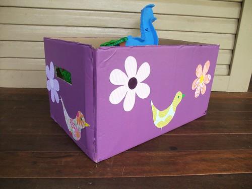 Cardboard Storage Box 2
