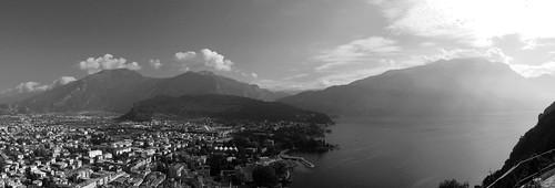 Riva, Monte Brione, Monte Stivo, MOnte Velo and Altissimo di Nago in the back