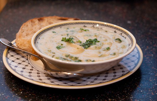 Celeriac Soup with Cilantro and Chile (1 of 1)