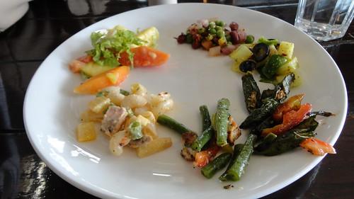 Salads at Cafe Masala