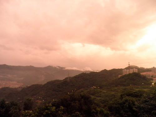 山邊夕陽3