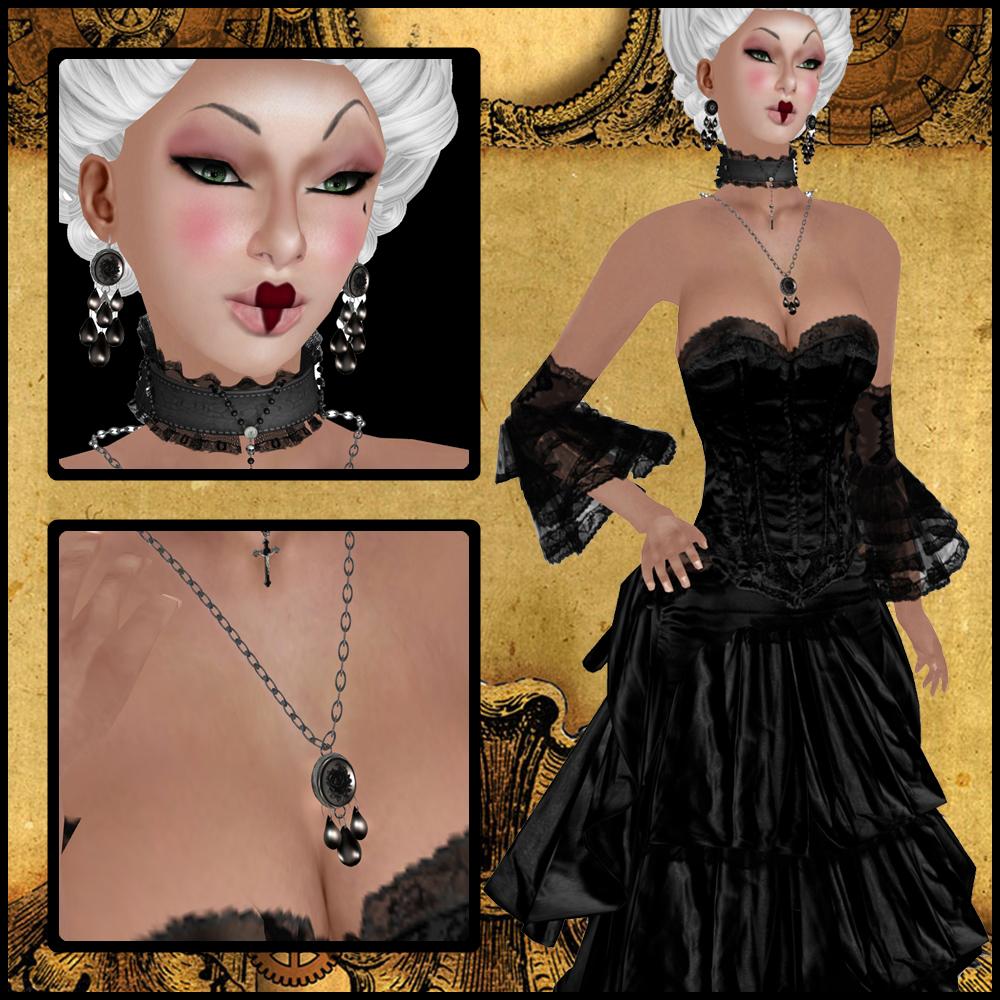 Vassnia Steam Punk Diva and Snatch Jewelry Composite