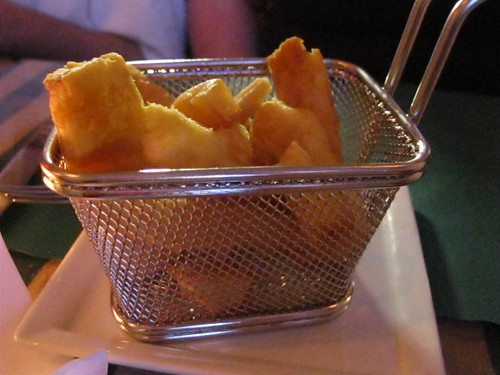 Fried Yucca (in a basket)