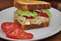 Mmm...tuna salad sammich
