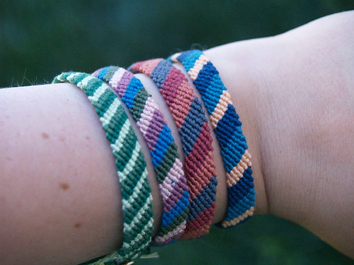 Grown Up Friendship Bracelets