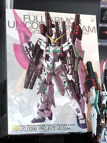 MG 1 100 Full Armor Unicorn Gundam Ver. Ka. Box art