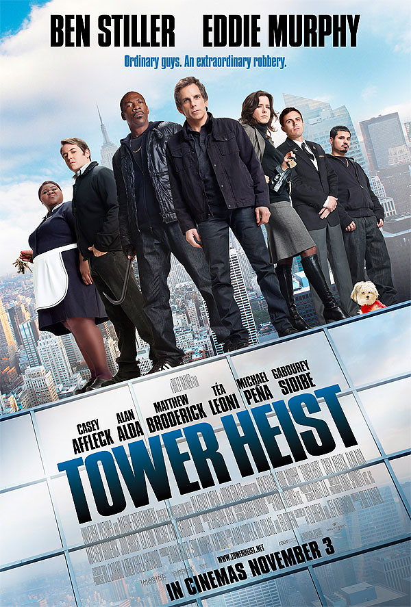 Ben Stiller and Eddie Murphy in Tower Heist