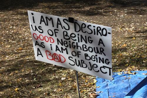 Occupy Toronto Day 20