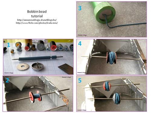 Bobbin bead tutorial