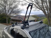 Rx8 with Yakima Highroller