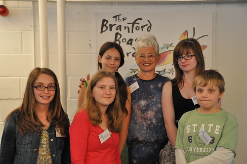 Henrietta Branford winners 2011 with Jacqueline Wilson