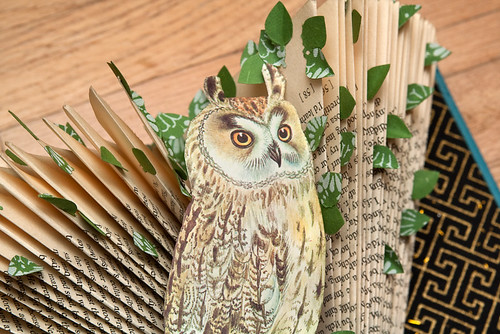 Altered Books- Long eared owl-2