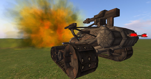 Carmageddon Tank 3, cannon