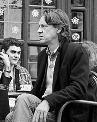 Eavesdropping at Cafe Nero.