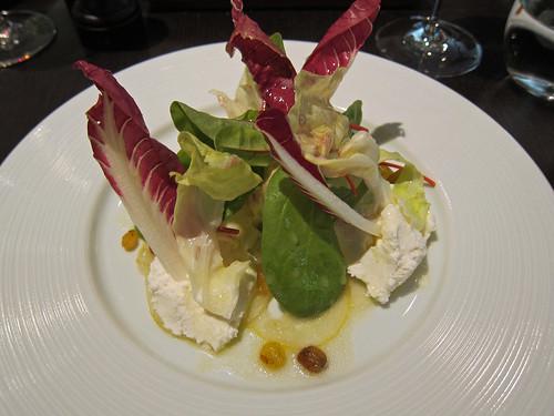 Lemon Salad (c.1730), Goats curd, raisins and verjus