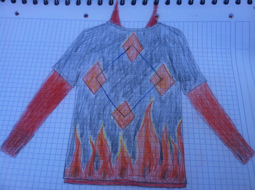 Fire sweater concept