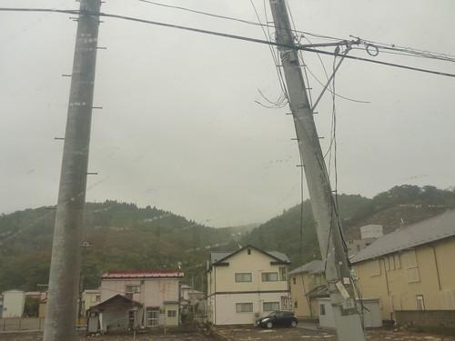 石巻, 牡鹿半島小渕浜でボランティア Japan Earthquake Recovery Volunteer at Kobuchihama, Oshika Peninsula, Miyagi pref. Deeply Affected Area by the Tsunami